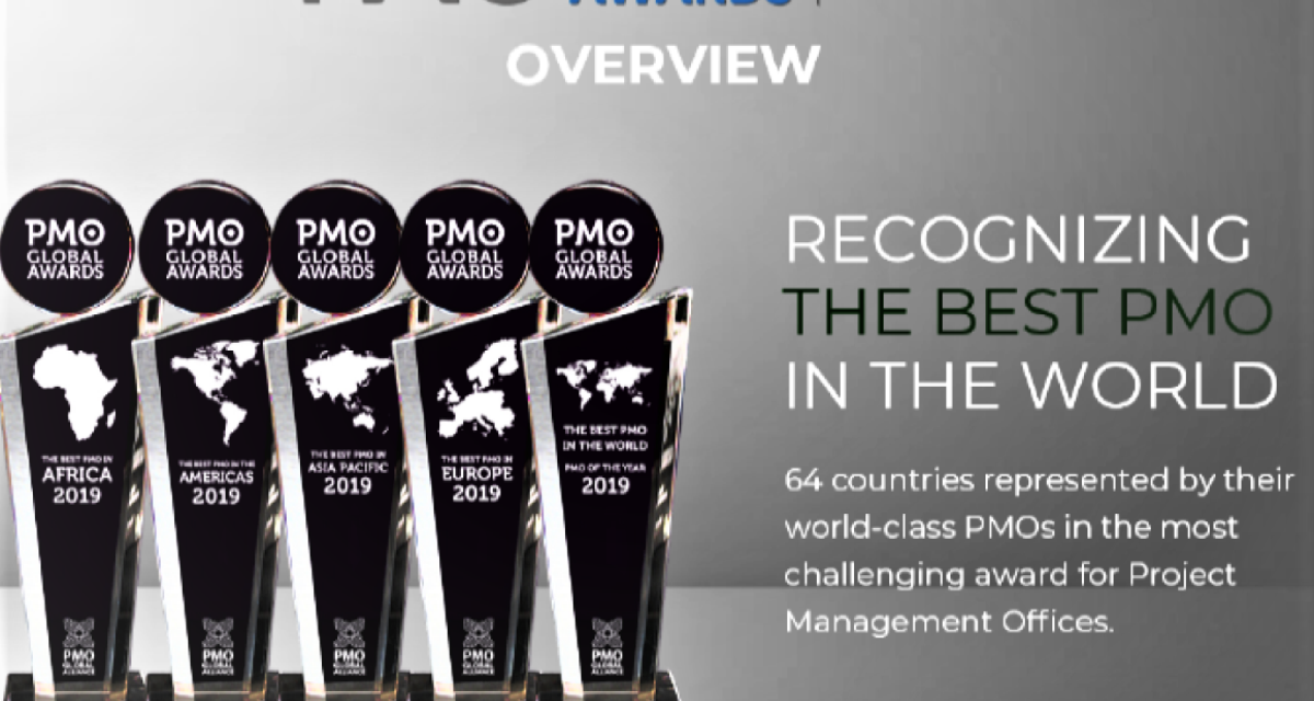 the 2019 PMO Global Awards